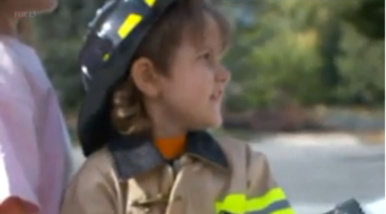 Korbyn – Firefighter for the Day
